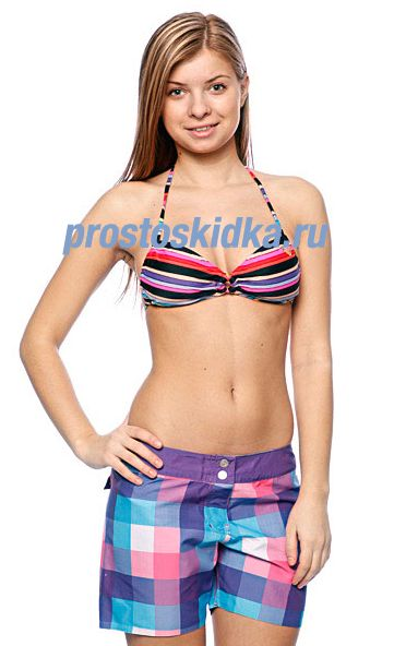 Бюстгальтер женский Roxy Baja California Stripe Angel Bra Baja