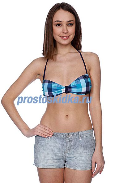 Бюстгальтер женский Roxy Buffalo Check Angel Bra Sea Buffalo Che
