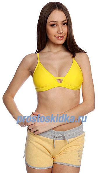 Бюстгальтер женский Roxy Reef Break Top Of Blazing Yellow