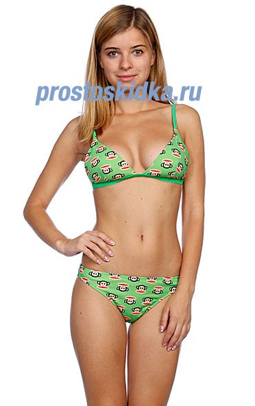 Купальник женский Paul Frank Julius Core Push Up Poison Green