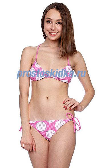 Купальник женский Rip Curl Hot Spot Triangle Setshocking Pink