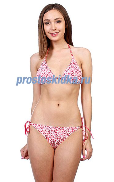Купальник женский Rip Curl Portofino Triangle Set Rococco Red