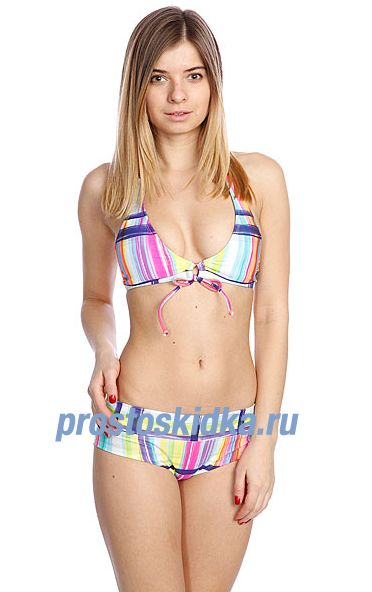 Купальник женский Roxy Adjustable Halter Shorty Sea Salt