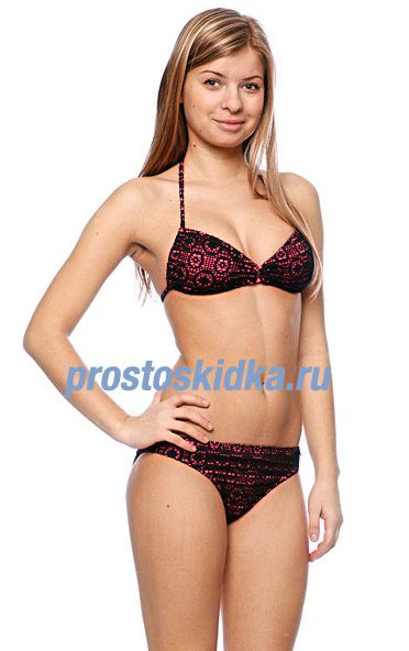Купальник женский Roxy In The Heart Regular Pt Black
