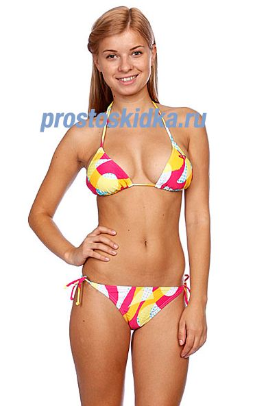 Купальник женский Roxy Summer Wave Bikini Tie Sides Summer Wave Nbl