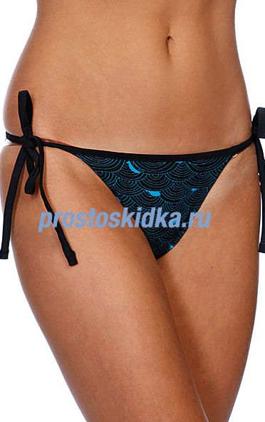 Плавки женские 69Slam Wave Blue Triangle Bikini