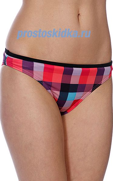 Плавки женские Roxy Buffalo Check Regular Pt Brp Buffalo Pink