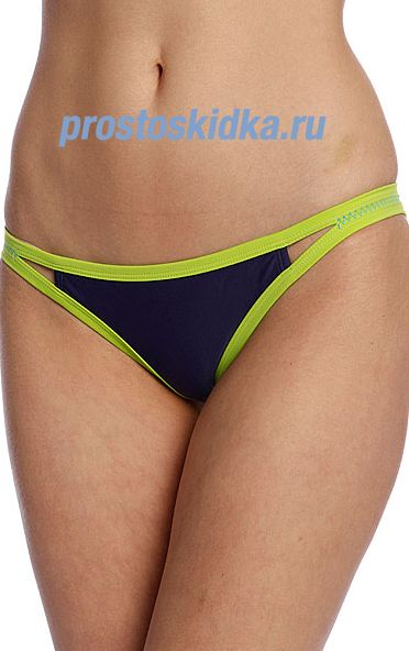 Плавки женские Roxy Flip Side Pant Of Indigo