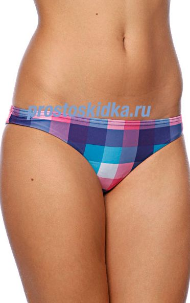 Плавки женские Roxy Multico Newport Rio Brazilian White Small Multi