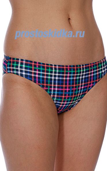 Плавки женские Roxy Multimini Plaid Regular Pant