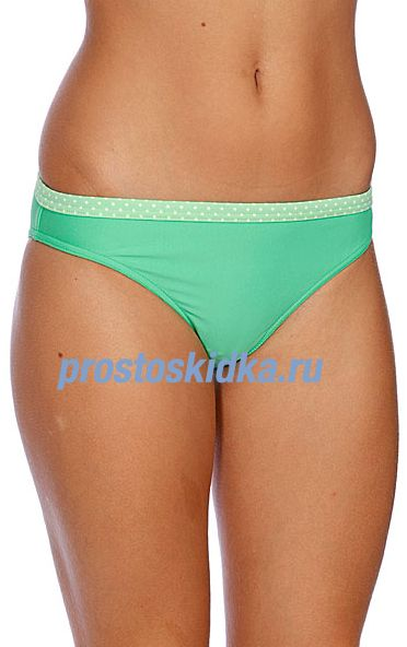 Плавки женские Roxy Solid Regular Pt Boyfriend Green