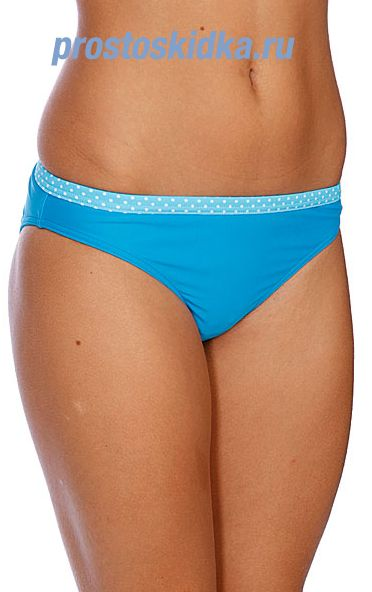 Плавки женские Roxy Solid Regular Pt Tropic Blue