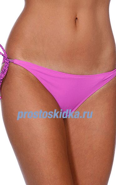 Плавки женские Vans Shore Thing Swim Bottom Pony Pink